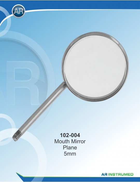 Mundspiegel (10 Stk ) Plan No.4/22 mm Universal