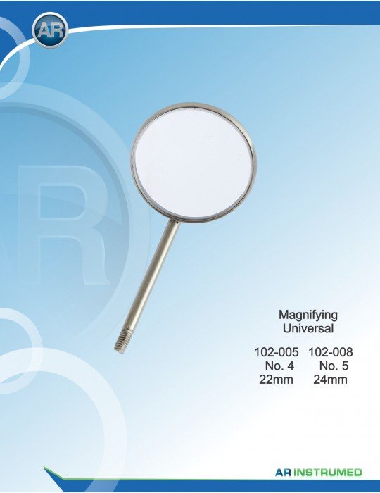 Mundspiegel (10 Stk ) Magnifying No.5/24 mm Universal