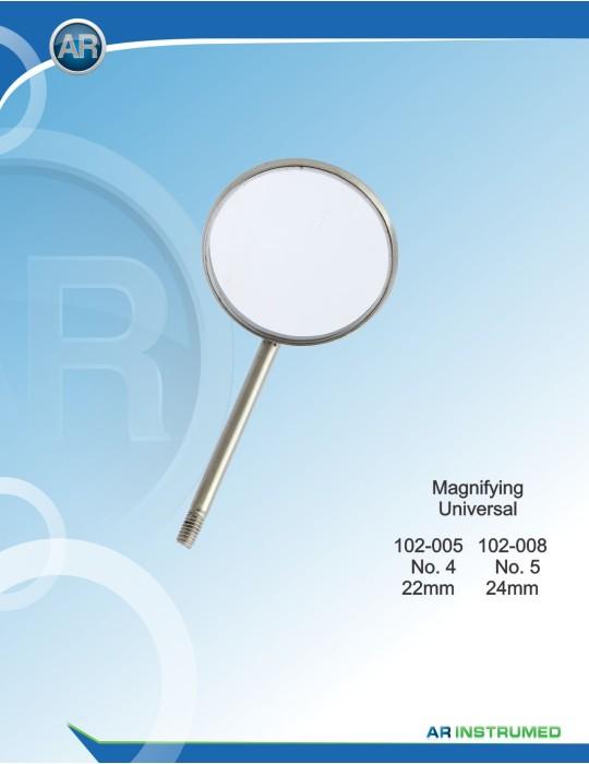 Mundspiegel (10 Stk ) Magnifying No.4/22 mm Universal